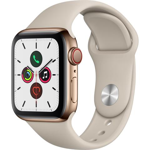 Apple Watch Series 5 40mm Gold GPS+CELL Stainless Steel Case