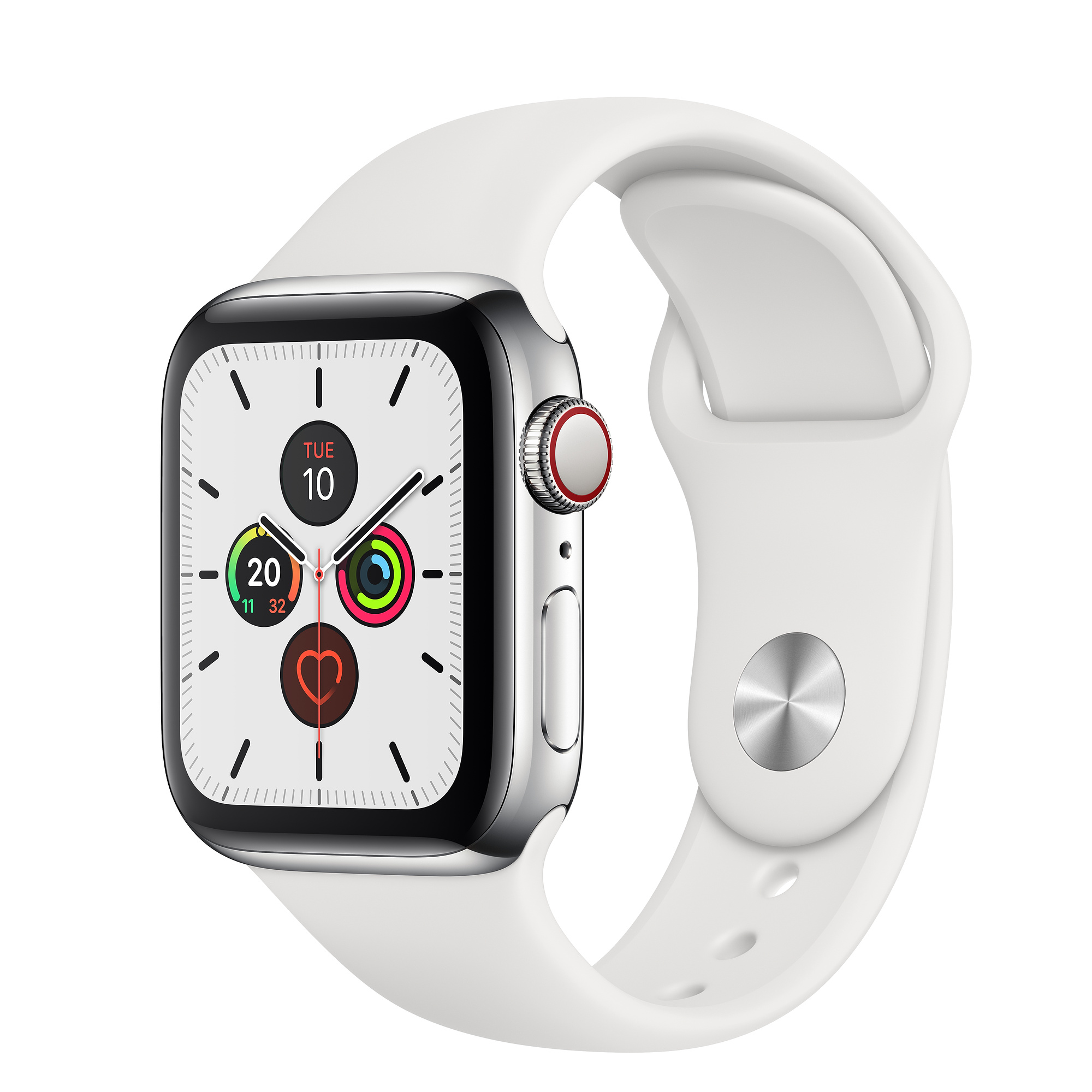 Apple Watch Series 5 40mm GPS+CELL Stainless Steel Case